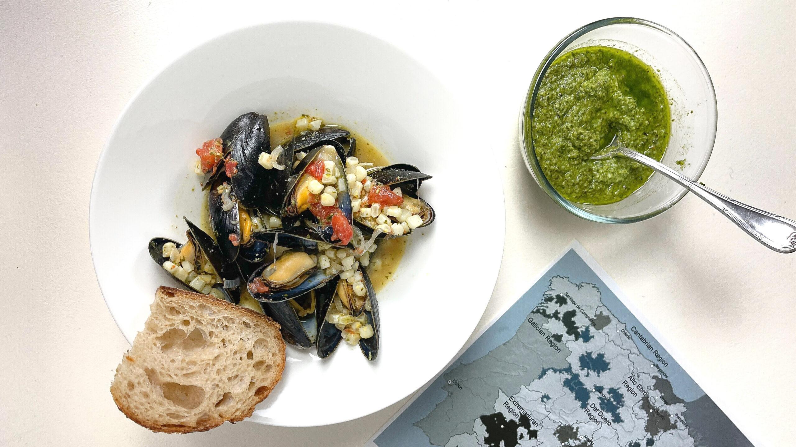 Pemaquid Mussels & Pesto